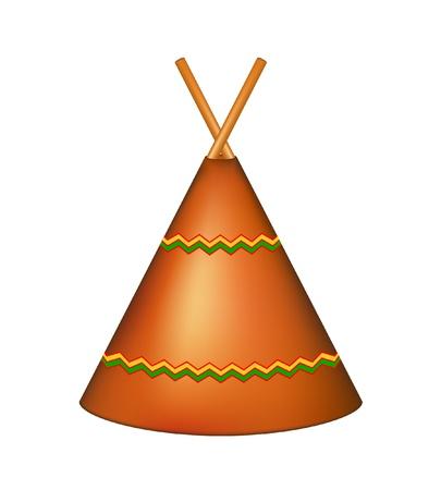 teepee: Wigwam, Indian teepee