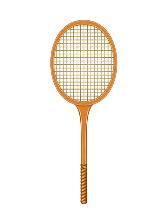 tennis racket: Tennis racket Illustration