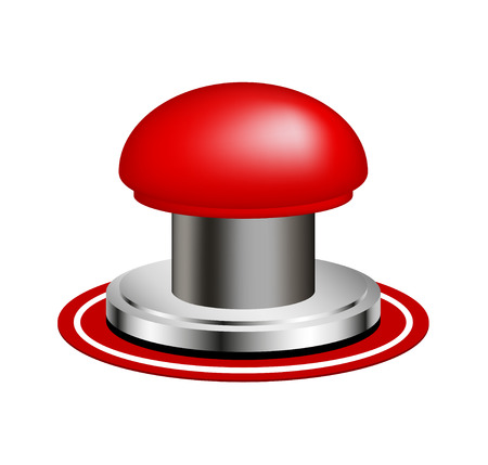 alarm button: Red alert push button