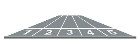 running track: Atletiekbaan