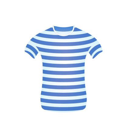 streaked: Striped sailor t-shirt