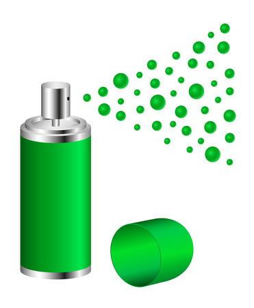 spindrift: Spray in green design
