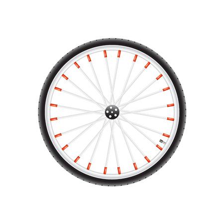 velocipede: Bicycle wheel