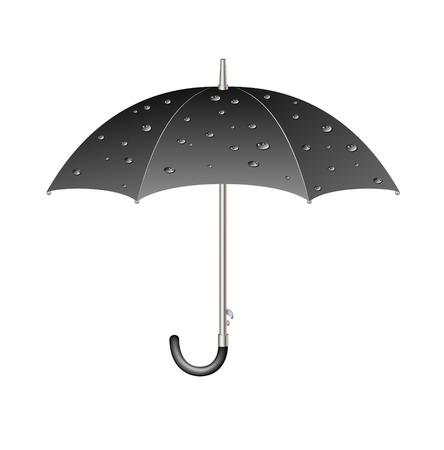 holder: Umbrella with raindrops