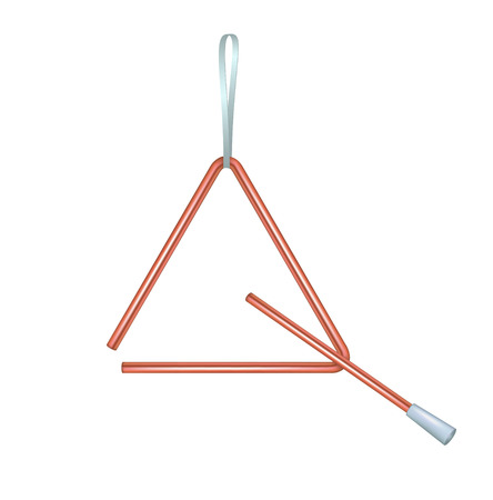 grabber: Triangle in red design