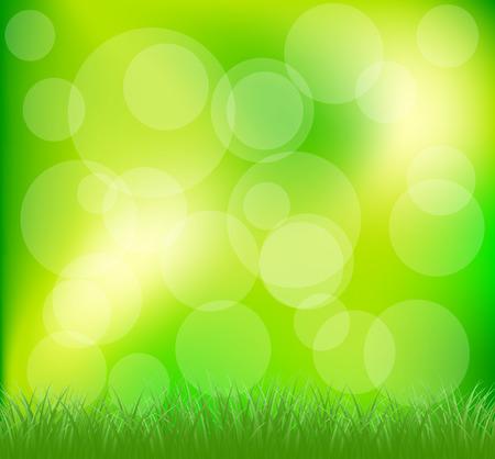 intensity: Natural green grass background