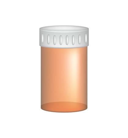 pill bottle: Empty pill bottle
