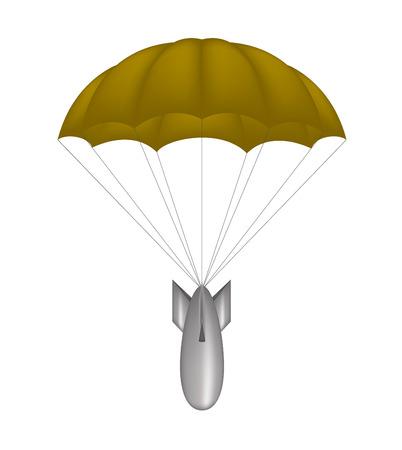 bombe atomique: Bombe au parachute brune