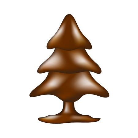 cioccolato natale: Albero di cioccolato