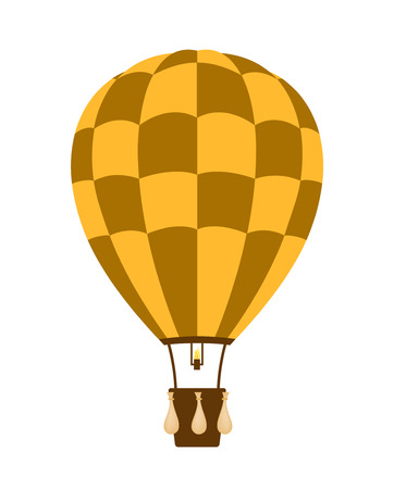 travel burner: Hot air balloon Illustration