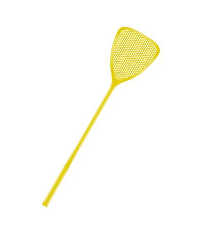 gnat: Flyswatter in orange design