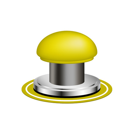 push button: Orange alert push button