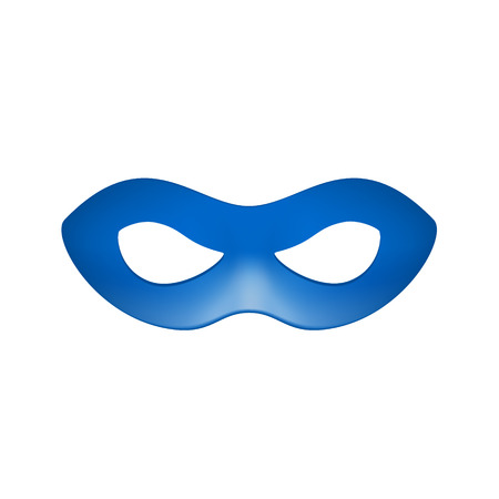 masque: Eye mask in blue design