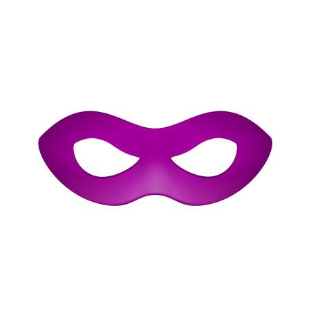 teatro mascara: M�scara de ojos en dise�o p�rpura Vectores