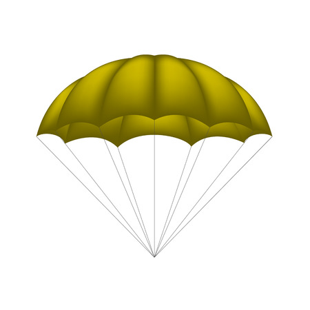 sport object: Parachute in brown design