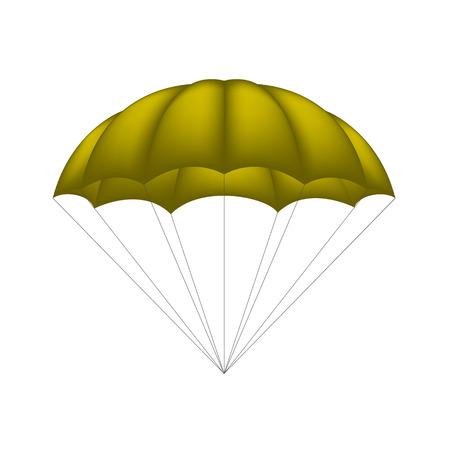 brown: Parachute in brown design