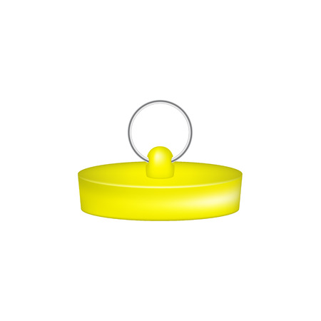 plug in: Rubber plug in yellow design