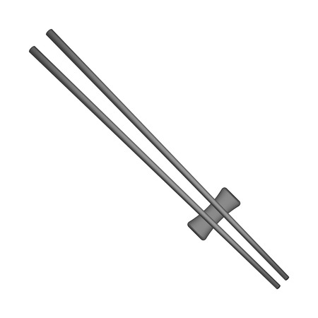 chopsticks: Wooden chopsticks in black design