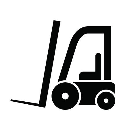 forklifts: The icon of modern forklifts Illustration