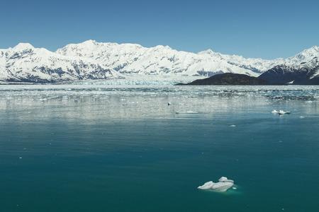 icefield: Hubbard Glacier in Yakutat Bay, Alaska.