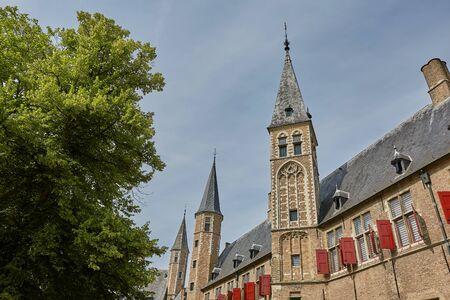 View of church in Vlissingen Zeeland Netherlands.