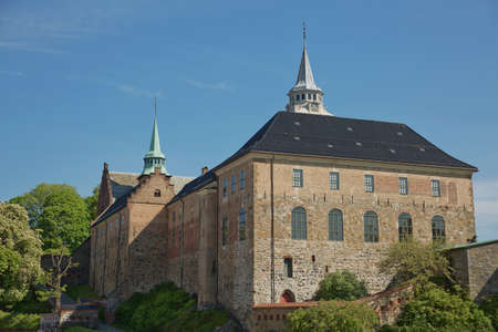 Akershus Fortress or Akershus Castle of Oslo in Norway is a medieval castle that was built to protect and provide a royal residence.