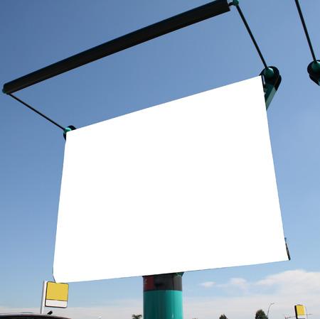 blank billboard photo
