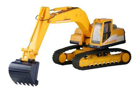 playthings: excavator Stock Photo