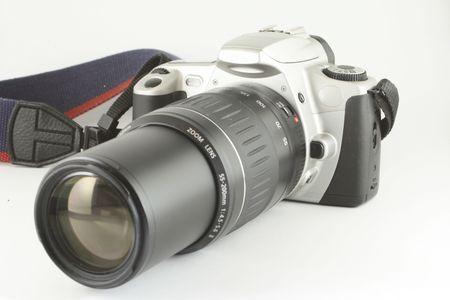 telezoom: slr camera