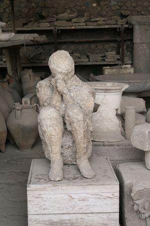 pompeii: pompeii in italy Stock Photo