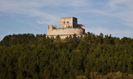 Ruin of gothic castle