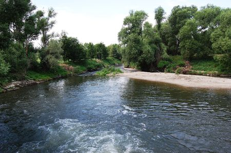 morava: Course of the Morava river