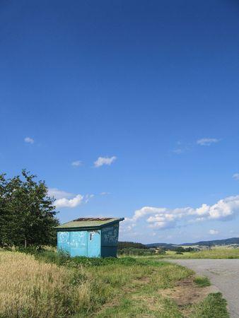 shack: jerry-built shack