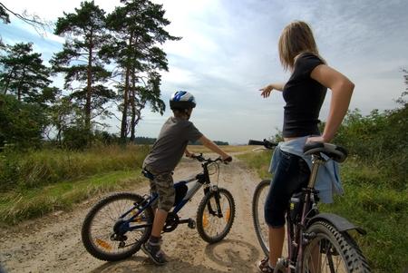 cycle tourism photo