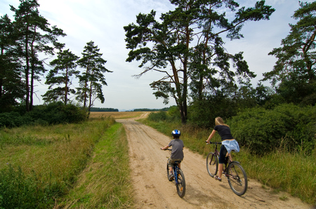 cycle tourism Stock Photo - 1423437