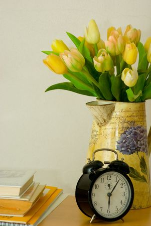 simple life: tulips Stock Photo