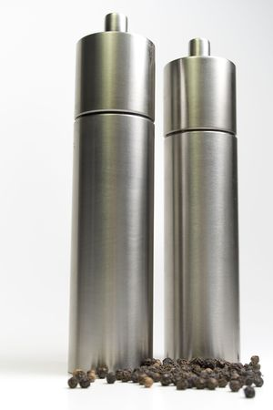 two pepper mill