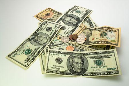 factura: dinero americano