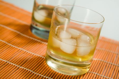 whisky glass photo