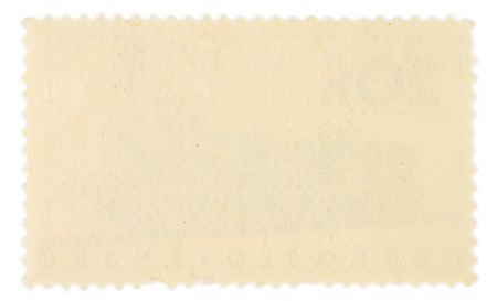 backside of a postage stamp Stock Photo - 3885832