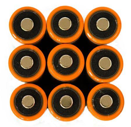 aa: closeup of AA batteries