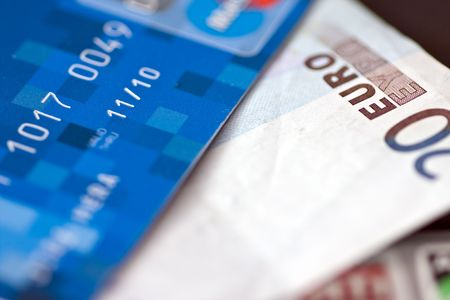 credit card and money photo