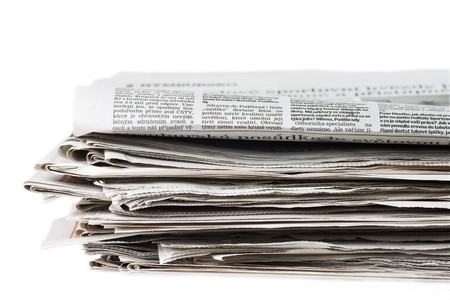 pile of newspaper Stock Photo - 3995731