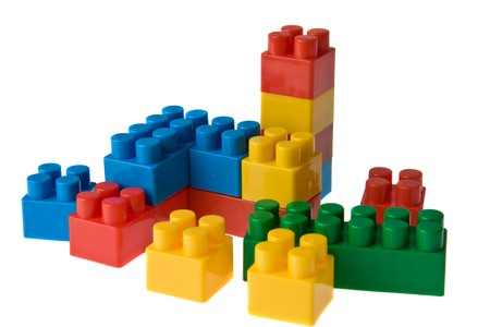color toy blocks photo