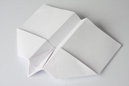 white paper plane Stock Photo - 4564039