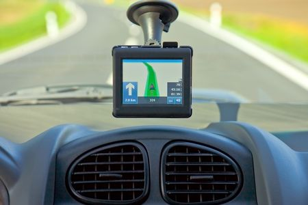 gps navigation in car Stock Photo - 4717389