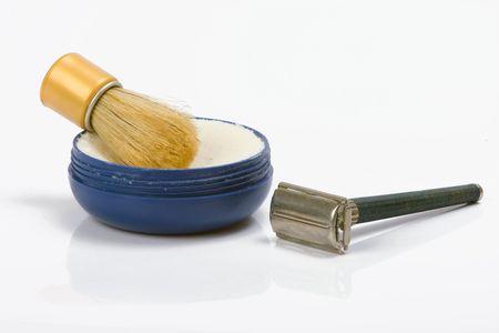 old shaving set photo