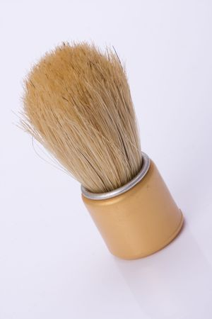 old shaving brush photo