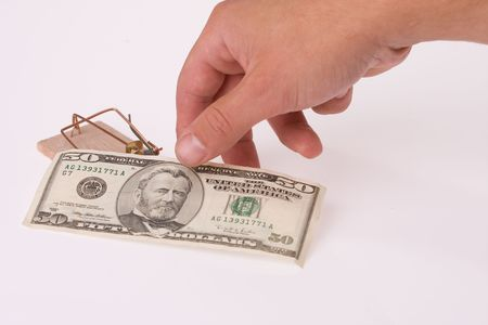 the money in a mousetrap photo