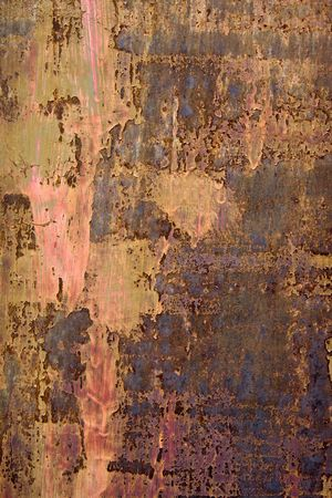 the old rusty metallic background Stock Photo - 5775405
